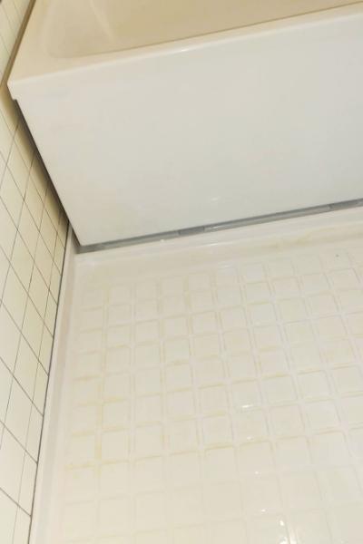 見違えるよう真っ白な浴室
