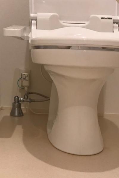 清掃でこんなにキレイになったトイレ